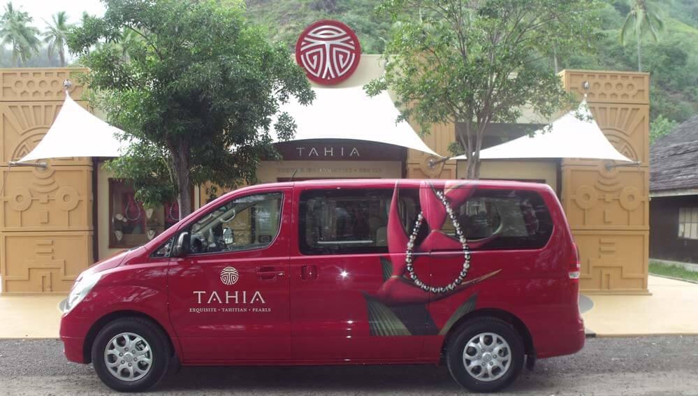 Véhicule Boutique Tahia Pearls